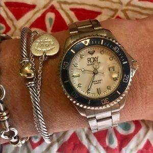 Roxy Stainless Steel Watch